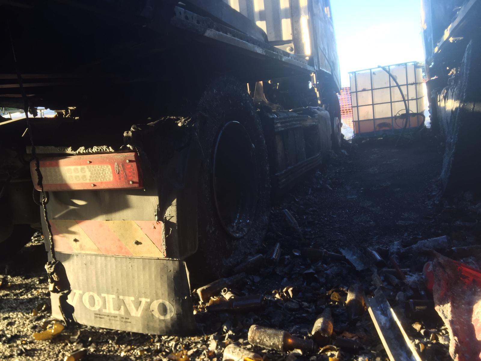 ripristino stradale dopo incidente camion 15