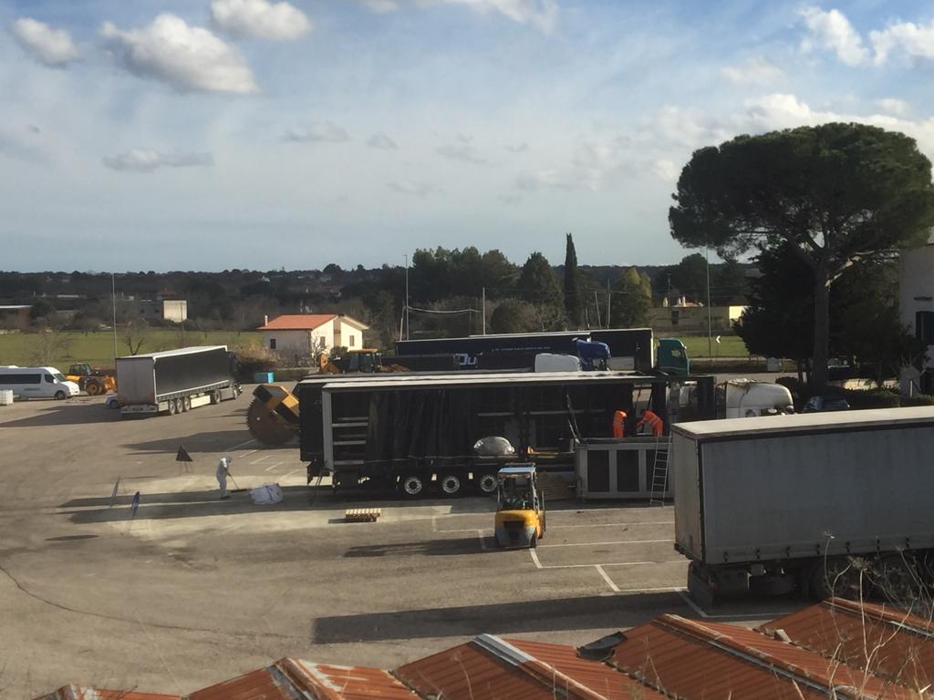 ripristino stradale dopo incidente camion 09