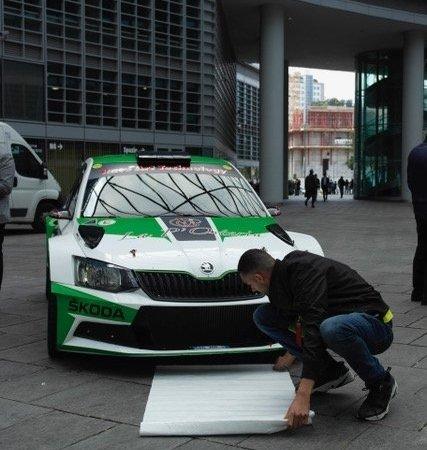 Conferenza Milano Rally Show 2019 auto 14