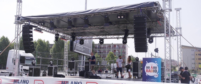 Milano Rally Show 2019 palco
