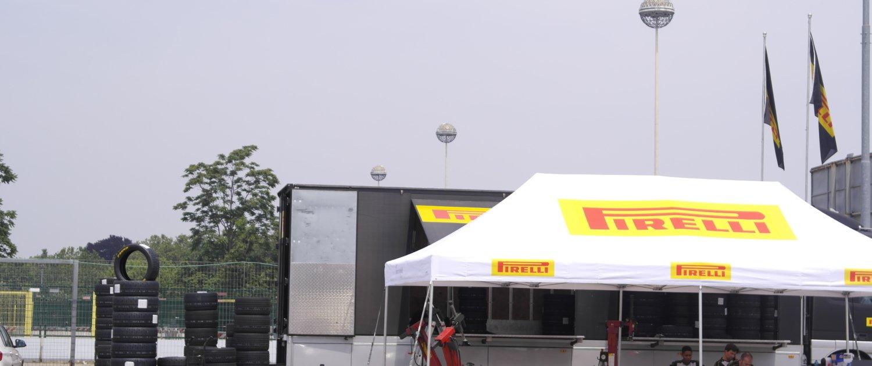 Milano Rally Show 2019 tenda Pirelli