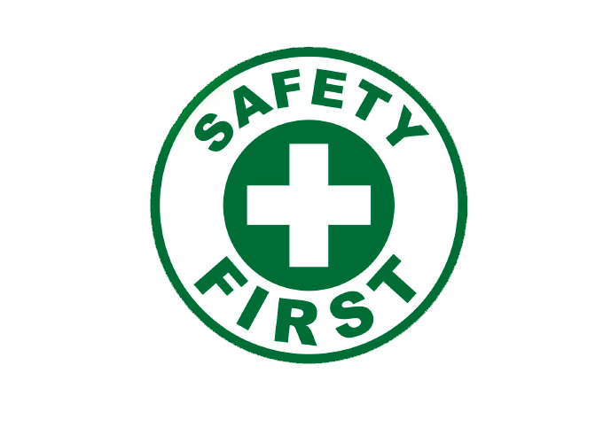 Sanificazione logo safety first