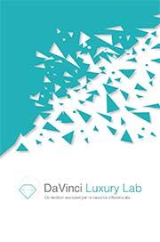 da vinci luxury lab copertina brochure