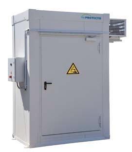 Cella deposito antincendio F90 con omologazione