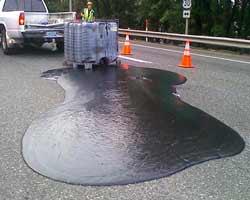perdita oli idrocarburi sedi stradali