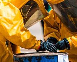 sversamento chimici in luoghi di difficile accesso