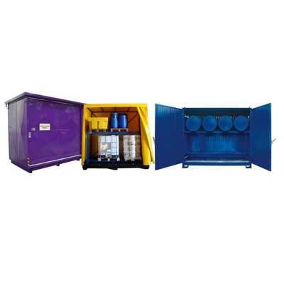depositi e container per stoccaggio fusti taniche e cisternette