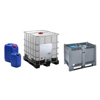 contenitori in plastica per liquidi
