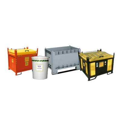 contenitori in plastica per materiali solidi