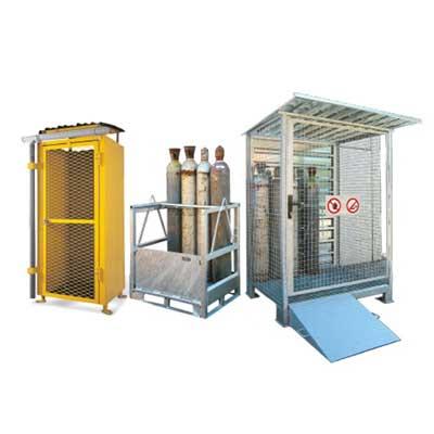 depositi in metallo per bombole gas per esterni