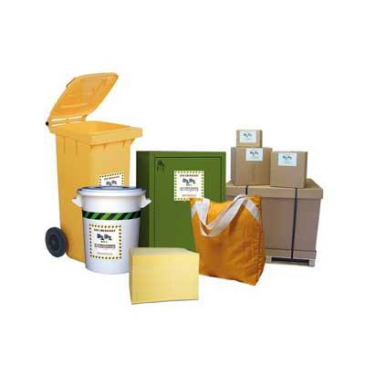 kit assorbenti sostanze chimiche aggressive