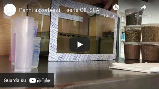 video deli panni assorbenti per idrocarburi serie Oil Sea