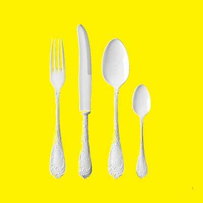 raccolta differenziata posate plastica