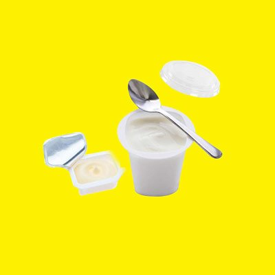 raccolta differenziata yogurth