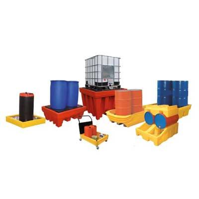 sistemi con vasca di raccolta in plastica per interni