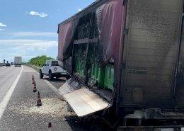 bonifica incidente stradale camion cipolle fianco