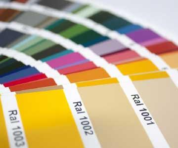 deposito container colorazione RAL