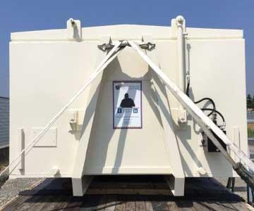 deposito container struttura scarrabile